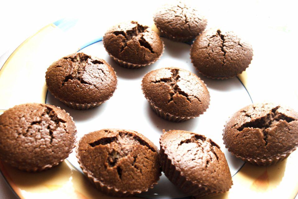 Schokokuchen Teig Muffins