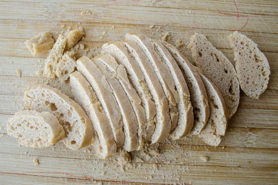altes Ciabatta Brot