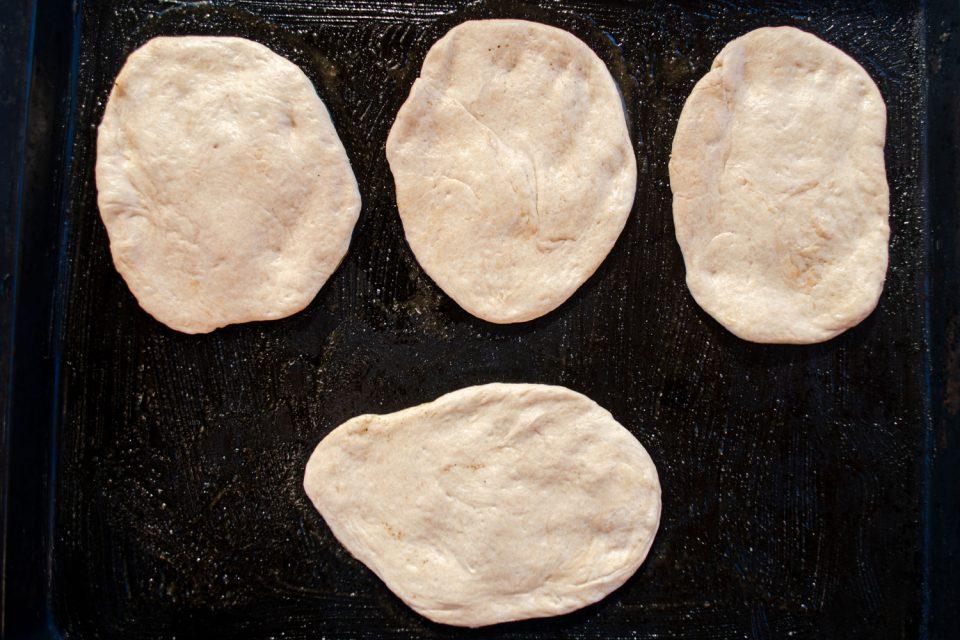 Pizzabrötchen Pizzateig selber machen
