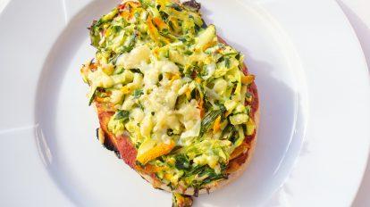 Pizzabrötchen vegetarisches Rezept